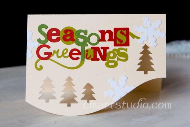 handmade holiday card