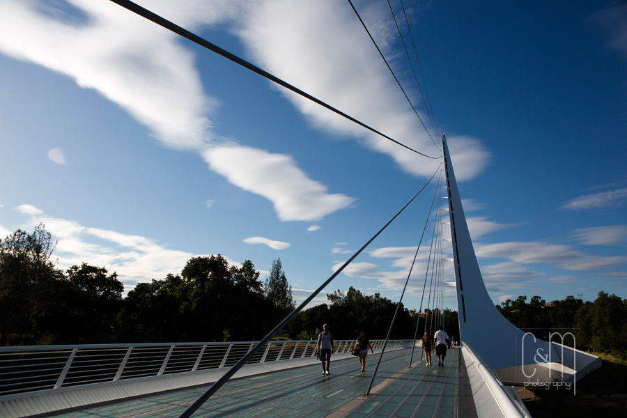 Sundial bridge,Santiago Calatrava,redding,travel
